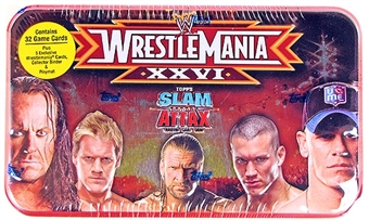 2010 Topps WWE Slam Attax Evolution Wrestling Box (Tin)