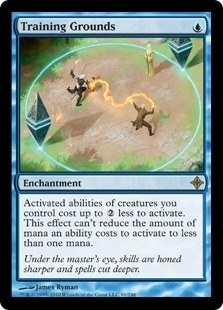 Magic the Gathering Rise of Eldrazi Single Training Grounds Foil