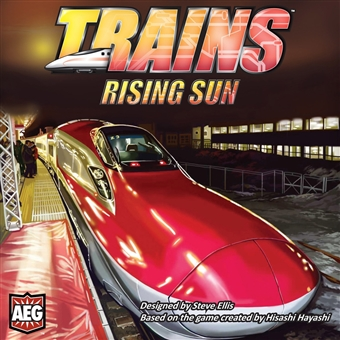 Trains 2: Rising Sun Board Game (AEG) - Regular Price $59.95 !!!