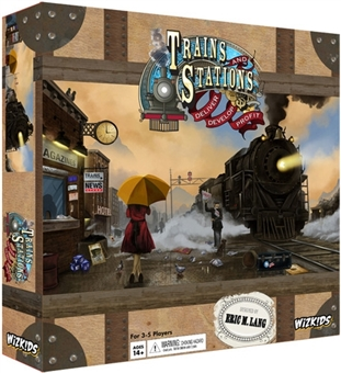 Trains and Stations Strategy Game (Wizkids)