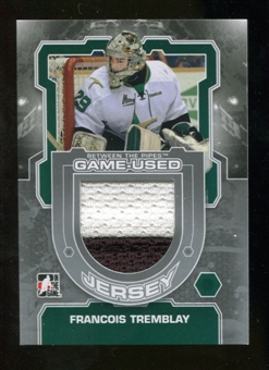 2012/13 In the Game Between The Pipes Jerseys Silver #M57 Francois Tremblay /140