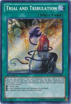 Yu-Gi-Oh Galactic Overlord Single Trial and Tribulation Secret Rare