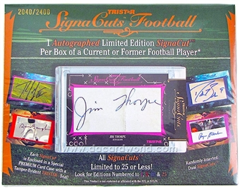 2012 TriStar SignaCuts Football Hobby Box