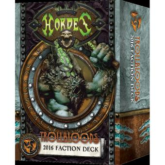 Hordes: Trollbloods Faction Deck Box (MKIII) (Presell)