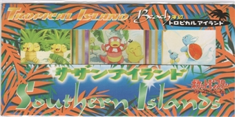 Pokemon Tropical Island Beach - Japanese Southern Islands 3 Card Promo Pack