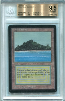 Magic the Gathering Beta Single Tropical Island BGS 9.5 *0008047143*
