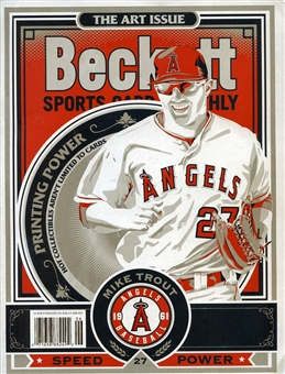 2013 Beckett Sports Card Monthly Price Guide (#339 June) (Mike Trout)