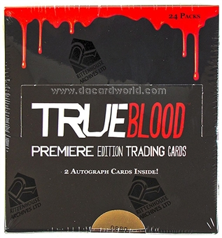 True Blood Premiere Edition Trading Cards Box (Rittenhouse 2012)