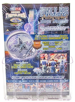 2012 TriStar Autographed 8x10 Dallas Edition Football Hobby Box (10 Photos)
