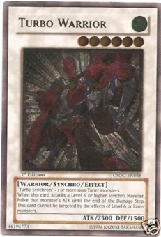 Yu-Gi-Oh Crossroads of Chaos Single Turbo Warrior Ultimate Rare