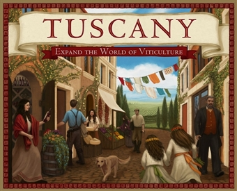Viticulture -  Tuscany Expansion Board Game