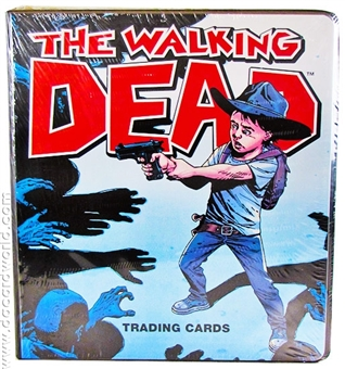 The Walking Dead Ultra Rare Comic Book Binder (Cryptozoic 2012)