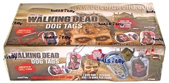 Walking Dead Season Two Dog Tags 1st Edition Box (Breygent 2013)