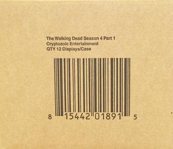 The Walking Dead Season 4 Part 1 Trading Cards 12-Box Case (Cryptozoic 2016)