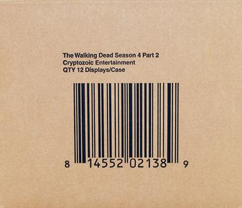 The Walking Dead Season 4 Part 2 Trading Cards 12-Box Case (Cryptozoic 2016)