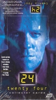 24 Twenty-Four Seasons 1+2 Hobby Box (2003 Comic Images)