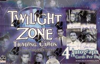 The Twilight Zone Series 3 Shadows & Substances Box (Rittenhouse 2002)