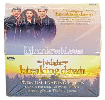 Twilight Breaking Dawn Part 2 Trading Cards Box (NECA 2012)