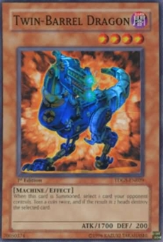 Yu-Gi-Oh Duelist Genesis Single Twin Barrel Dragon Super Rare