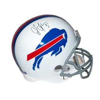Tyrod Taylor Autographed Buffalo Bills Full Size Replica Football Helmet