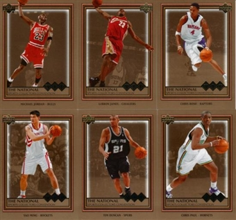 2006 Upper Deck National VIP Exclusive Basketball Promo Set