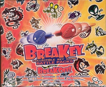 Upper Deck BreaKey Battle Packs 40 Pack Box