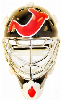 2001/02 Upper Deck Mask Collection Martin Brodeur Devils Chrome Mini Mask