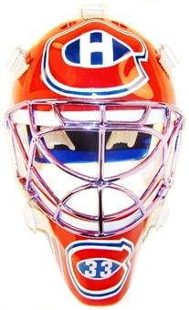 2001/02 Upper Deck Mask Collection Patrick Roy Canadiens Chrome Mini Mask