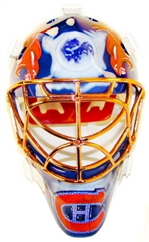 2001/02 Upper Deck Mask Collection Jose Theodore Canadiens Chrome Mini Mask