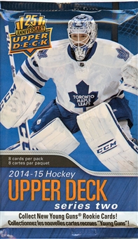 2014/15 Upper Deck Series 2 Hockey Retail Pack