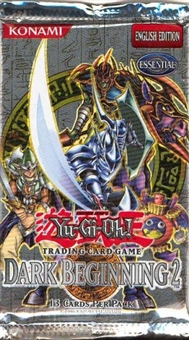 Upper Deck Yu-Gi-Oh Dark Beginning Series 2 Booster Pack