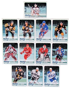 2013-14 Upper Deck Hockey Heroes Decade 1990's 12 Card Set