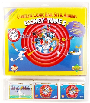 1991 Upper Deck Comic Ball Set & Album Box