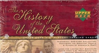 History of the United States Hobby Box (2004 Upper Deck)