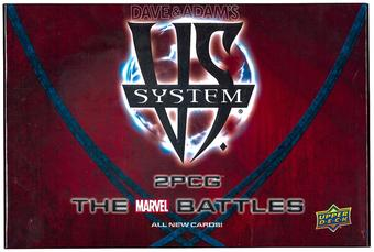 Upper Deck Vs System 2PCG: The Marvel Battles Starter Box