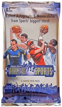 2011 Upper Deck World of Sports Hobby Pack
