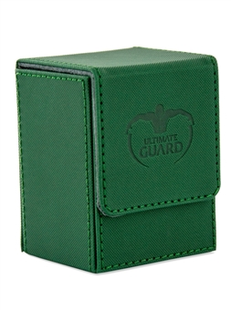 Ultimate Guard Flip Deck Case 80+ Xenoskin Standard Size Green