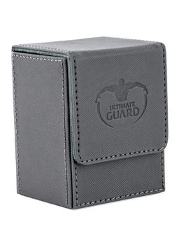 Ultimate Guard Flip Deck Case 80+ Xenoskin Standard Size Grey