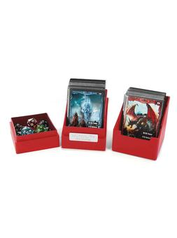 Ultimate Guard Monolith Deck Case 100+ Standard Size Red