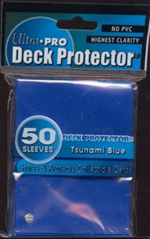 Ultra Pro Tsunami Blue Deck Protectors 50 Count Pack