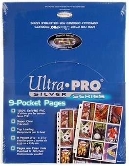 Ultra Pro Silver 9-Pocket Pages (100 Count Box)