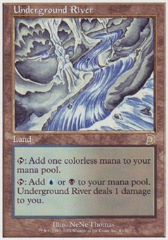 Magic the Gathering Ice Age Single Underground River (Deckmaster)