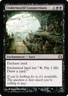 Magic the Gathering Return to Ravnica Single Underworld Connections - NEAR MINT (NM)