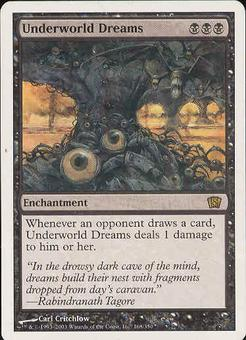 Magic the Gathering 8th Edition Single Underworld Dreams - SLIGHT PLAY (SP)