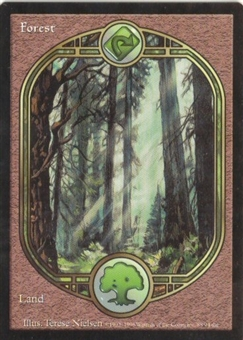 Magic the Gathering Unglued Single Forest - NEAR MINT (NM)