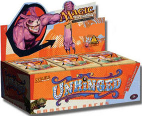 Magic the Gathering Unhinged Booster Box