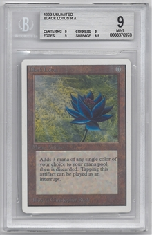 Magic the Gathering Unlimited Single Black Lotus BGS 9 - *0008376978*