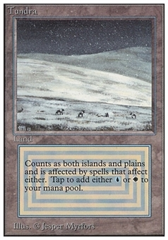 Magic the Gathering Unlimited Single Tundra - NEAR MINT (NM)