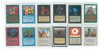 Magic the Gathering Unlimited Complete Common/Uncommon Set NEAR MINT/SLIGHT PLAY