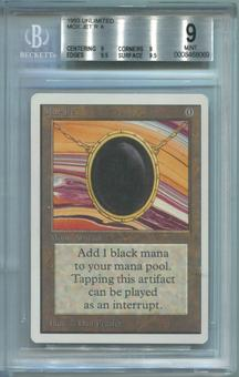 Magic the Gathering Unlimited Single Mox Jet - BGS 9 (9, 9, 9.5, 9.5) *0008468069*
